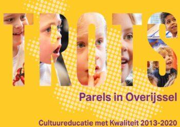 Publicatie Cultuureducatie TROTS – Parels in Overijssel