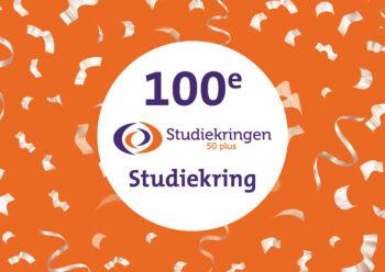 De 100e studiekring is een feit!